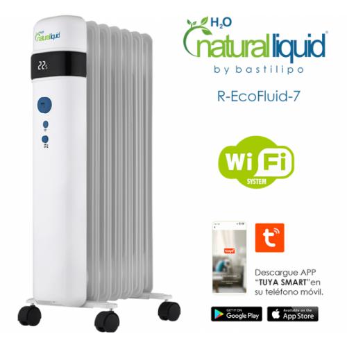 RADIADOR ECOLOGICO NATURAL R-ECOFLUID 7 (1000W)